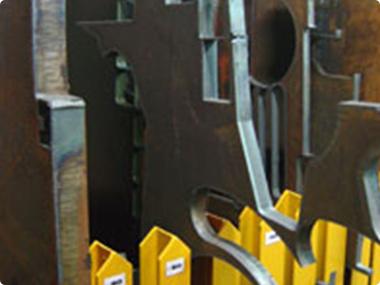 CNC plate cutting